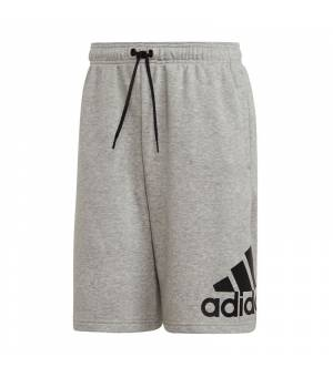 Adidas Must Haves Badge Of Sport French Terry M Grey Heather/White kraťasy