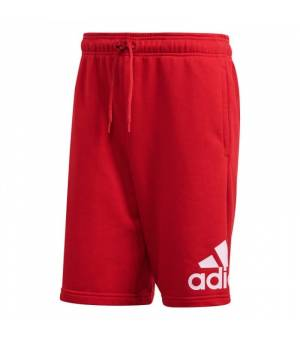 Adidas Must Haves Badge Of Sport French Terry M Grey Scarle/White kraťasy