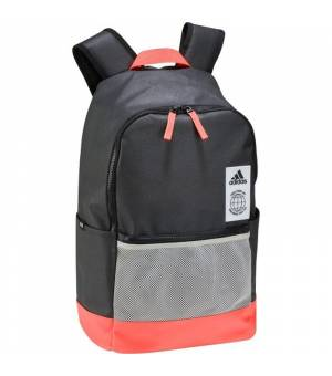 Adidas Classic Backpack Urban Black/Solar Red batoh