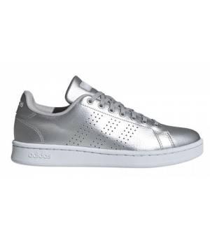 Adidas Advantage Silver / White