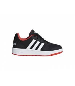 Adidas Hoops 2.0 K W obuv čierna