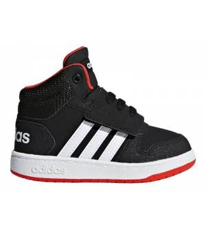 Adidas Hoops Mid 2.0 I Black/ Red/ White