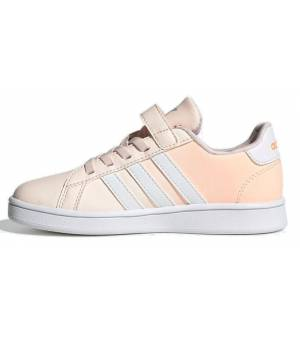 Adidas Grand Court C Jrs Pink Obuv