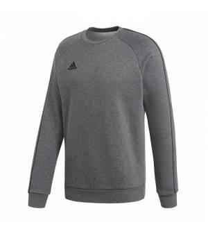 Adidas Core 18 SW Grey / Black pánsky ležérny sveter čierny