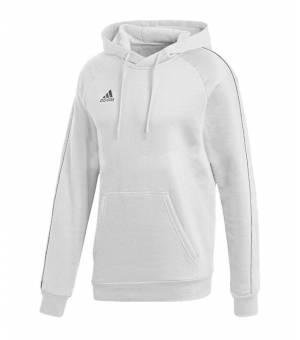 Adidas Core 18 Hoody White mikina