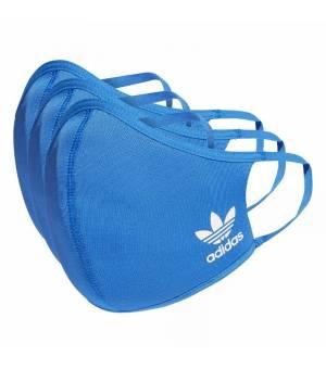 Adidas Face Cover M/L Blue rúško 3ks balenie