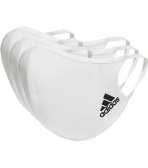 Adidas Face Cover M/L White rúško 3ks balenie