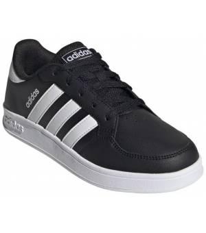 Adidas Breaknet K Jr CBLACK/FTWWHT/CBLACK