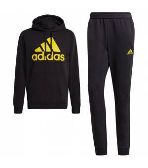 Adidas M BL FZ HD TS Black / Yellow tepláková súprava