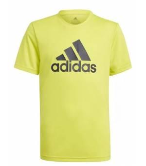 Adidas BL TEE Jr Acid Yellow/Legend Ink tričko