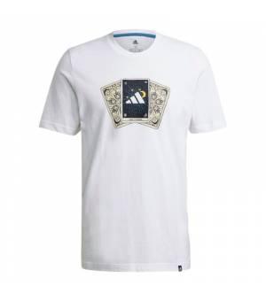 Adidas M Tarot Bos Tee White tričko