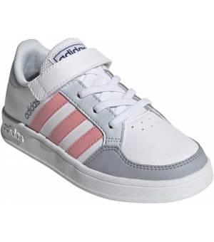 Adidas Breaknet C Jr FTWWHT/SUPPOP/HALBLU