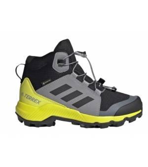 Adidas Terrex Mid Gtx K JR Black / Yellow / Grey