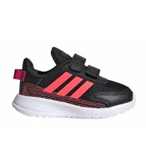 Adidas Tensaur Run I Jr Core Black / Signal Pink / Power Pink / Coral