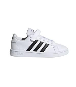 Adidas Grand Court C Jr Cloud White / Core Black