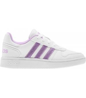 Adidas Hoops 2.0 K Jr FTWWHT/CLELIL/GREYTWO