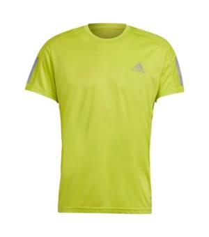 Adidas Own The Run Tee M Acid Yellow tričko