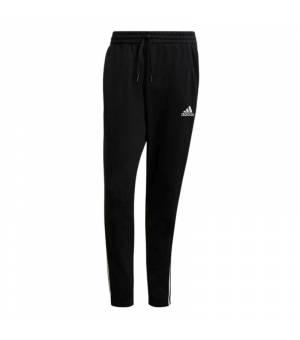 Adidas M 3S SJ TO PNT Black / White nohavice