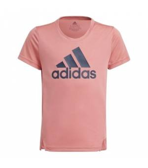 Adidas G BL TEE JR Hazy Rose / Crew Navy tričko