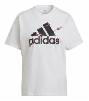 Adidas W Valentine Tee White tričko