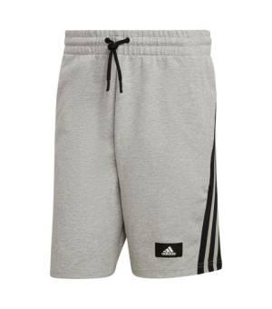 Adidas M Fi 3s Shorts Medium Grey Heather kraťasy
