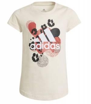 Adidas Jg Gfx Tee Jr WON/WHITE tričko