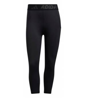 Adidas Techfit 3/4 3 Bar Tights W Black/White legíny