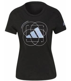 Adidas Run Logo W 2 Black tričko
