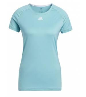 Adidas Performance Tee W Minton/White tričko