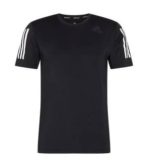 Adidas Techfit 3-Stripes Fitted Short Sleeve M Black tričko