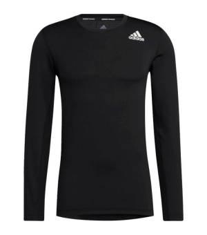 Adidas Techfit Compression Long Sleeve Black tričko