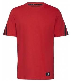 Adidas M Fi 3s Tee VIVRED tričko