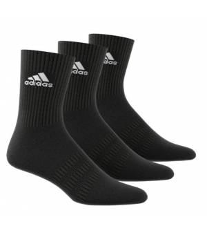 Adidas Cush CRW 3 Pairs Socks Black ponožky