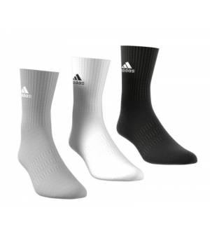 Adidas Cush CRW 3 Pairs Socks Black/Grey/White ponožky