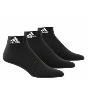 Adidas Cush Ank 3 Pairs Socks Black ponožky