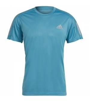Adidas Own The Run M Blue T-shirt tričko