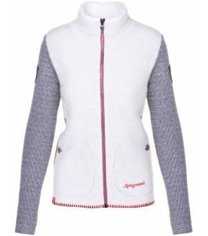 Almgwand Gerenspitze W Jacket Beige-Grau bunda