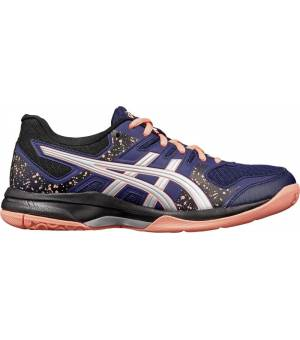 Asics Flare 7 GS Jr. Indoor Marine/Silver/Orange
