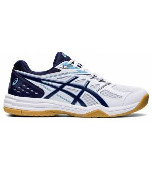 Asics Upcourt 4 White / Marine Blue