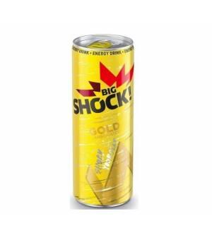 Big Shock Gold energetický nápoj perlivý 330 ml