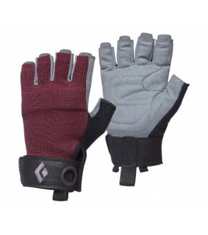 Black Diamond Crag Half Finger Gloves W Bordeaux rukavice