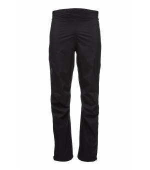 Black Diamond Stormline STR FL ZP Pants Black nohavice