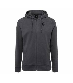 Black Diamond M Fullzip Hoody Stacked Carbon mikina