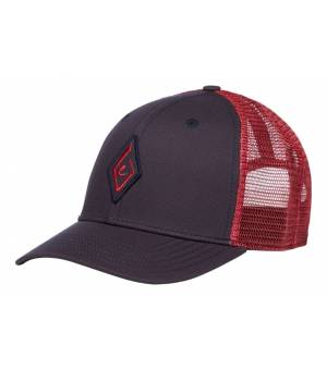 Black Diamond Trucker Hat Carbon-WildRose šiltovka