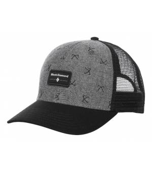 Black Diamond Trucker Hat Chambray-Black šiltovka