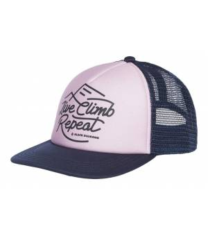 Black Diamond W Trucker Hat Wisteria-Eclipse šiltovka