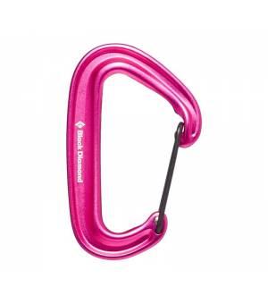 Black Diamond MiniWire Carabiner ultra pink karabína