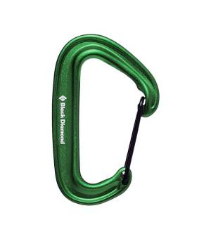 Black Diamond MiniWire Carabiner green karabína