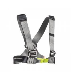 Black Diamond Vario Chest Harness black/slate hrudný úväz