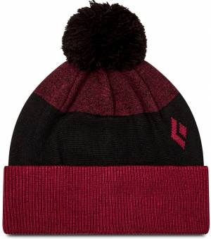 Black Diamond Pom Beanie Bordeaux / Black čiapka